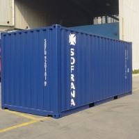 Container used as template