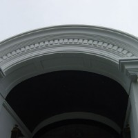 19 - Arched cornice detail