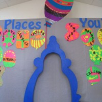 School production Dr Suess arch