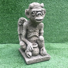 Medium Gargoyle Pot CDGA14A - $55.00