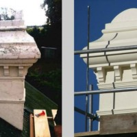 Historical chimney restoration